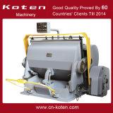 Máquina que arruga y que corta con tintas de múltiples funciones