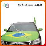 Vlag van de Kap van de Auto Farbic van de douane de Elastische voor Auto
