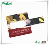 경쟁가격 (WY-C28)를 가진 선전용 카드 USB 펜 드라이브