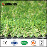 Niedrige Preise 25mm EVP-künstliches Gras zugrunde gelegen mit dem Feuer beständig