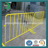 Galvanized Temproary Fencing for Pedestrian Crossing