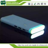 carregador de bateria externo do banco da potência 20000mAh