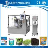 Nahrungsmittelkörnchen-Puder-flüssige füllende Verpackungsmaschine für Beutel u. Quetschkissen