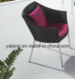 GentelデザインChair及びコーヒーテーブル(YT940-1)による普及したテラスの庭のコーヒーセット