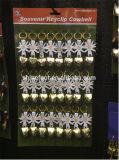 Cowbells svizzeri dell'oro di Keychains con l'imballaggio Keychains della scheda di intestazione