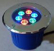 Luz subterrânea do diodo emissor de luz do RGB da iluminação ao ar livre do diodo emissor de luz