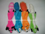 クリスマスの供給の製品ペットプラシ天犬のおもちゃ
