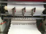 Высокоскоростная автоматическая низкая цена машинного оборудования лицевой ткани Embosser Slitter складывая