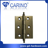 Cofre barato porta-latas dobradiças dobradiça de bronze (HY891)