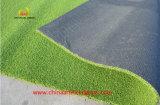 Base y un fuerte respaldo de la hierba artificial para golf