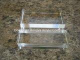 Bloc acrylique clair en plastique de vente chaud 50mm