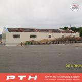 Construction préfabriquée d'entrepôt de structure métallique de coût bas