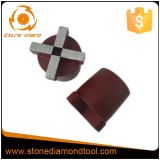 4개의 세그먼트 Terrco 구체적인 플러그 다이아몬드 가는 플러그