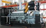 генератор Мицубиси резервной силы 2100kVA 1680kw промышленный тепловозный