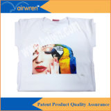 Digital Flatbed cotton T-Shirt Printer with White Ink
