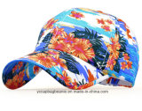 Самомоднейшим одичалым бейсбольная кепка типа напечатанная цветком