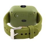 Sos子供のスマートな腕時計を置く緊急アラームGPS追跡者のブレスレット