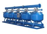 排水処理の自動後流の機械砂フィルター