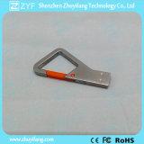Ручка USB формы ключа треугольника Keychain металла (ZYF1722)