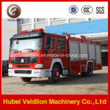 280HP HOWO 8m3 Wasser-Löschfahrzeug