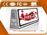 Regolatore esterno di colore completo P5 /P2.5/P6with 3G 4G WiFi della visualizzazione di LED del tassì di vendita calda di Abt per fare pubblicità