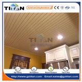 Panneaux de mur décoratifs intérieurs de plafond de PVC de texture