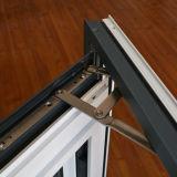 Le guichet en aluminium de tissu pour rideaux de profil d'interruption thermique de la qualité Kz299 et se lèvent en bas du guichet de composé de guichet de Slinding