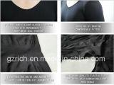 Chemise du Taping des hommes de Shaper de corps/T-shirts courts noirs intérieurs d'hommes
