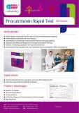 Cartão rápido exato do teste de Procalcitonin