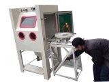 Drehscheibe Sandblast Machine, Sand Blast Cabinet mit Turntable und Cart
