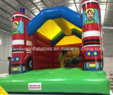 Inflatable caldo Bouncer Firecar per Kids, Inflatable rimbalzante