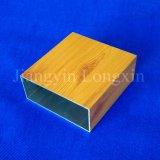خشبيّة إنتقال طبق ألومنيوم أنابيب مربّعة