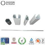 Profils en aluminium/en aluminium d'extrusion pour le rideau borgne utilisé