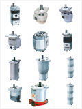 유압 장치를 가진 건축기계를 위한 유압 기어 펌프
