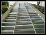 Grata dell'acciaio saldata pressione