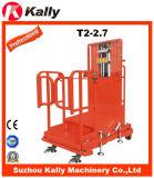 Halb elektrischer hochgelegener Rücklader mit konkurrenzfähigem Preis (T2-2.7)