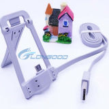 2 en 1 USB Data Cable de Micro con Phone Holder