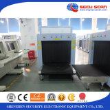Máquina de radiografía del explorador AT10080B del bagaje del rayo X/explorador del bagaje de la radiografía para el uso de la logística