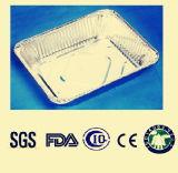 Respectueux de l'environnement et disposition pour le plateau de papier d'aluminium d'utilisation de cuisine