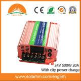 (HM-24-500) o inversor híbrido de 24V 500W pode com potência da cidade