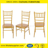 Штабелировать стул алюминия утюга венчания мебели банкета