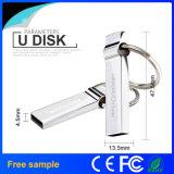 Movimentação feita sob encomenda do flash do USB do metal da promoção