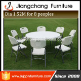 큰 Dinner Table 8seater Round Dining Table