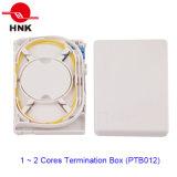 Caixa de terminação de cabo de fibra óptica de 1 ~ 4 Cores (PTB012)