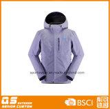 남자의 형식 스키 재킷