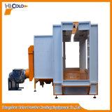 Cabina automática Cl3145 de la pintura del polvo con gastos indirectos a través