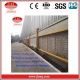 Nachgeahmte Marmorzwischenlage-Panel-Sicherheitszaun-Aluminiumzwischenwand (Jh156)