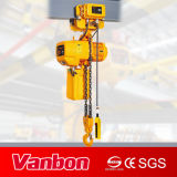 Vanbon 3ton elektrische Kettenhebevorrichtung 3 Phasen-Doppelgeschwindigkeit mit Laufkatze