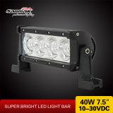 7.5 barra ligera del CREE LED de la pulgada 40W para campo a través