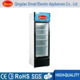 Transparent Glass Door Upright Soft Drink Display Réfrigérateur